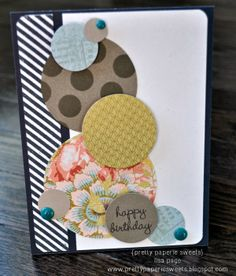 pretty paperie sweets - happy birthday card