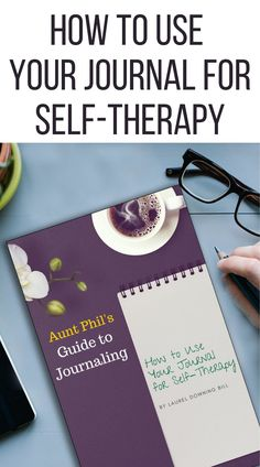Therapists have used journals for decades to help their patients communicate their thoughts and feelings. You can work through difficult situations in your life by writing in your journal, just as you would when you talk to a therapist. It doesn't replace professional help, but it can be an amazing tool. This guide will help you get started. #journaling #journalguide