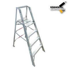Aluminium Step Ladder: S.R.Engineering Corporation offering a comprehensive range of Aluminium Step Ladders which is made from high grade aluminium and other raw materials.These ladders are widely demanded by the clients for their precise designing, reliability and durability. Clients can avail these ladders in different dimensions and grades as per their exact requirements.