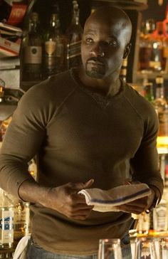 """Mike Colter Will """"Deal With His Own Demons"""" In """"Luke Cage"""" Netflix Series - Comic Book Resources [Netflix] Netflix Releases, Netflix Series, Luke Cage Netflix, Comic Book Characters, Comic Books, Mike Colter, Luke Cage Marvel, Heroes For Hire, Character Profile"""