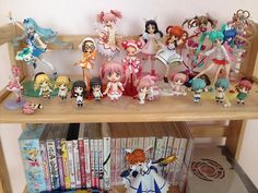 I plan to have an awesome shelf like this......*looks longingly at Christmas list* all of the figures are for remodeling