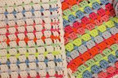 kleurencombinaties-haken-bloksteek,  en #haken, techniek, steken, steek, bloksteek, mooie steek voor dekentjes en het omhaken van tassen