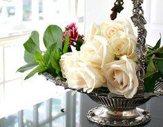 #Antique #BridesBasket #RibboninmyJournal #Victorian #Silver #FrenchGardenHousestyle #Frenchgardenhouse.com