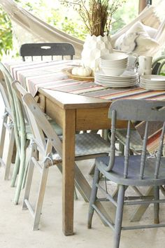 Boho Porch Fall Dini