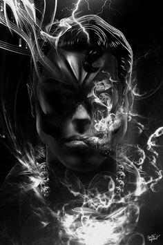 FANTASMAGORIK® MAN OF SMOKE on Behance