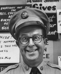 The Phil Silvers Show - 1955-1959 --- or if you watched it on re-runs, it often was named Sgt. Bilko. The show had some great character actors on it. It took place on an Army base that was supposed to be located in Kansas - the barracks where front and center to a lot of the  scenes  dialog exchanges.