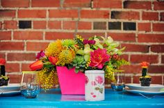 Neon Wedding Inspiration | Green Wedding Shoes Wedding Blog | Wedding Trends for Stylish + Creative Brides