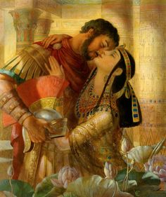 Anthony and Cleopatra - doomed to die, but at least they tried.