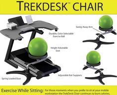 I want one of these SO very badly at work. While I'm thankful that I don't have to do hard labor at work, I hate sitting down 8 hours a day!!