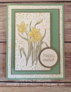 Stampin' Up  You're Inspiring  Easter Mother's Day Sympathy Friendship Thinking of You DeWalt Designs CASEd from Stamp with Brian
