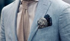 Attention to detailing is key, and paying attention to the way you fold your pocket square is a style necessity. I walk you through some folds.