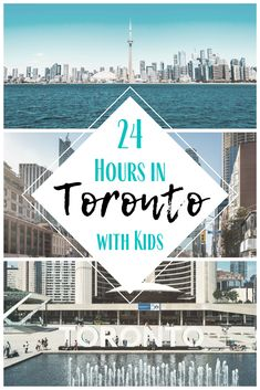 Toronto deserves more than a weekend, but if that's all you've got- we've got you covered! From where to stay and where to eat to the best things to see and do, check out how to spend 24 awesome hours in Toronto with kids! Alberta Canada, Cool Places To Visit, Places To Travel, Travel Things, Quebec, Travel Couple, Family Travel, Vancouver, Toronto Travel