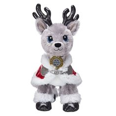 Go on a Merry Mission with Build-A-Bear's stuffed animal Christmas gifts! Shop classic holiday teddy bears, plush reindeer, and so much more. Shop gifts now at Build-A-Bear! Stuffed Toys, Stuffed Animals, Custom Teddy Bear, Aries And Pisces, Kawaii Plush, Online Gift Shop, Build A Bear, Cute Toys, Kawaii Fashion