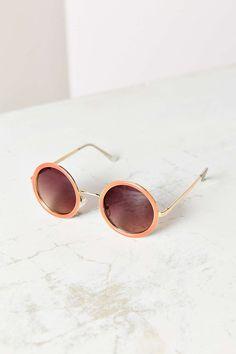 Cassidy Round Sunglasses