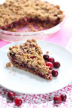 This looks amazing, too - Unconventional Cranberry Pie