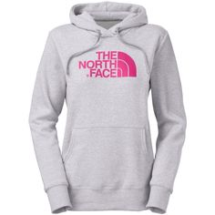 The North Face Hoodie pink and gray. wonderful hoodies!