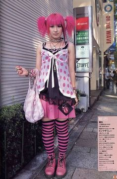 Harajuku Photo: This Photo was uploaded by szunee. Find other Harajuku pictures and photos or upload your own with Photobucket free image and video host. Tokyo Street Fashion, Japanese Street Fashion, Japan Fashion, Korean Fashion, Pastel Goth Fashion, Kawaii Fashion, Cute Fashion, Fashion Outfits, Fashion Styles