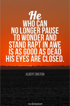 """""""He who can no longer pause to wonder and stand rapt in awe is as good as dead his eyes closed."""" - Albert Einstein Click through for all 72 inspirational sleep quotes! Rest Quotes, Habit Quotes, Sleep Quotes, As Good As Dead, Coping With Stress, Improve Mental Health, Positive Psychology, Good Night Quotes, Inspirational Books"""