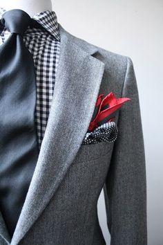 handsome winter suit