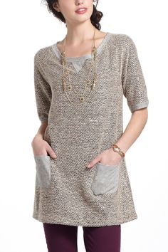Nubby Boucle Tunic - Anthropologie.com