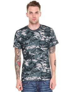 Food Camo Tee by DJP OUTLET