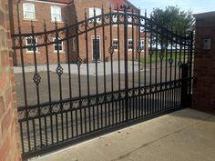 Decorative Wrought Iron Walk Gate Wrought Iron Fence