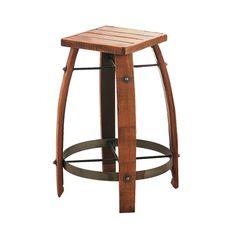 Scaun pentru Bar din Butoi  Pentru comenzi și detalii sunați la 0749 123 452.  #wood #woodenchair #rustic #homedecor