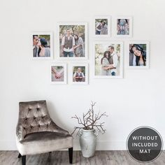 2 16x20 Frames With 11x14 Openings 2 11x14 Frames With