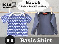 #9 Baby Basic Shirt eBook + Schnittmuster + Video