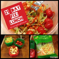 21 Day Fix: Lunch Ideas