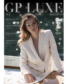 "Nicole Russo on Instagram: ""Coverstory #August2020 out on #gpluxemagazine @gpluxemagazine  #model @morganabalzarotti_  #jewelry @gismondi1754  #rivayacht…"" Riva Yachts, T Line, Bellini, Interview, Girly, Blazer, Model, Collection, Instagram"