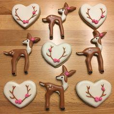"30 Likes, 6 Comments - Honey Plum Cookies (@honeyplumcookies) on Instagram: ""Oh deer, it's JoJo's birthday! #decoratedcookies #decoratedsugarcookies #royalicing…"""