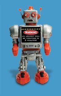Warning!! Robot