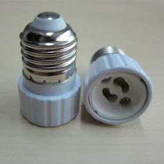 Undisclosed New Arrival Lamp Bulb Adapter Converter Led E27 To Gu10 Socket Holder
