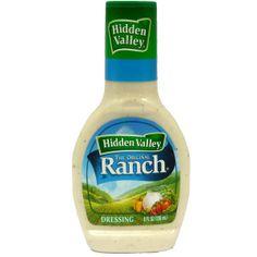 Hidden Valley Ranch for your 80s mcdonalds salad