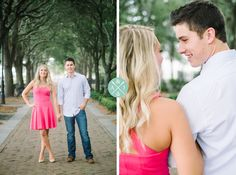 WATERFRONT PARK ENGAGEMENT SESSION IN DOWNTOWN CHARLESTON, SOUTH CAROLINA » Aaron and Jillian Photography