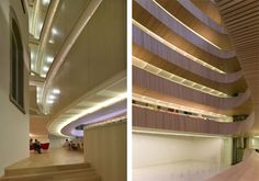 Library of University of Zurich, Faculty of Law by Santiago Calatrava, 2005 © Ralph Richter/archenova