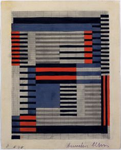 Anni Albers. Design for Smyrna Rug. 1925. The Museum of Modern Art, New York