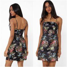 Oriental Style Bodycon Black Satin Floral Mini Dress Strappy Cami Sizes 8 - 18  #Unbranded #BodyconDress #Party Oriental Style, Oriental Fashion, Fashion Outfits, Womens Fashion, Black Satin, Size Clothing, Plus Size Outfits, Cami, Bodycon Dress