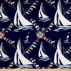 Discover recipes, home ideas, style inspiration and other ideas to try. Coastal Fabric, Home Decor Fabric, Beach Fabric, New Shark, Small Laundry Rooms, Basement Laundry, Set Sail, Cool Diy Projects