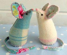 Pin Cushion Mice | Craftsy