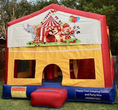 We offer free delivery within a radius of Cooroy & provide quality jumping castles to Gympie Council and Sunshine Coast Council residents. Obstacle Course, Basketball Hoop, Sunshine Coast, Sun Protection, Castles, Book, Happy, Chateaus, Ser Feliz
