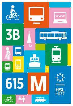 HSL - Helsinki Regional Transport Authority by Kokoro & Moi  http://on.be.net/1dakLx6