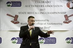 Wes   Lamb Colorado State Champion.   #coloradoauctioneers #auctionswork #NAAPro #MyersJacksonphoto
