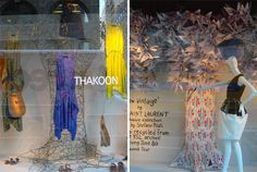 Hangers, window display, visual merchandising
