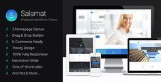 Salamat - Multipurpose WordPress Theme - Business Corporate