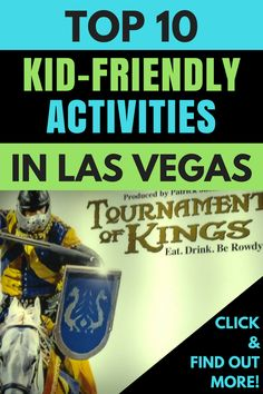 Las Vegas Kids Things To Do - Find out how to have a fun family vacation in Las Vegas with these great kid friendly activities in Las Vegas! Click to find out what the top 10 family friendly Las Vegas activities are. #FamilyFun #FamilyFriendly #Vegas #KidFriendly #FamilyTravel #LasVegas