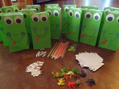 City Teacher Goes Country: Frog Themed Birthday Party Leap Year Birthday, Frog Birthday Party, 6th Birthday Parties, Boy Birthday, Birthday Ideas, 12th Birthday, Frog Theme, Alice, First Birthdays