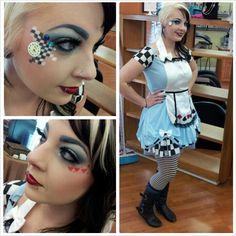 Alice in wonderland makeup | MakeUp | Pinterest | Alice in ...