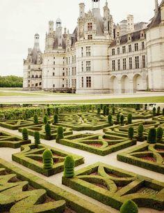 Chateaux de la Loire. France